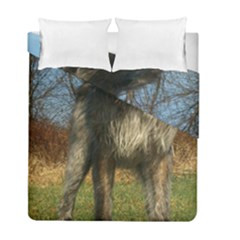 Irish Wolfhound full Duvet Cover Double Side (Full/ Double Size)