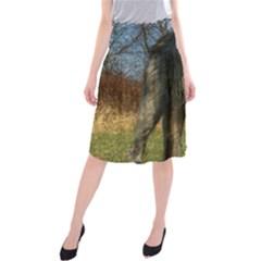 Irish Wolfhound full Midi Beach Skirt