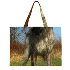 Irish Wolfhound full Large Tote Bag