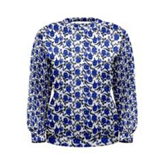 Roses pattern Women s Sweatshirt