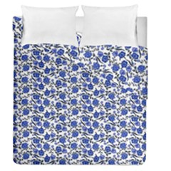 Roses pattern Duvet Cover Double Side (Queen Size)