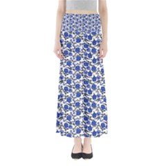 Roses pattern Maxi Skirts