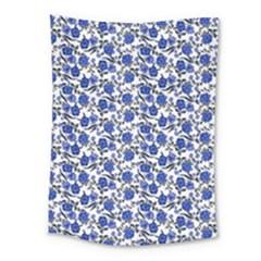 Roses pattern Medium Tapestry