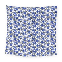 Roses pattern Square Tapestry (Large)