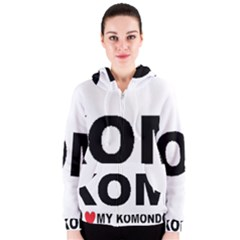 I Love My Komondor Women s Zipper Hoodie