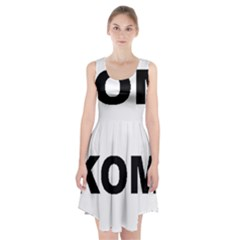 I Love My Komondor Racerback Midi Dress