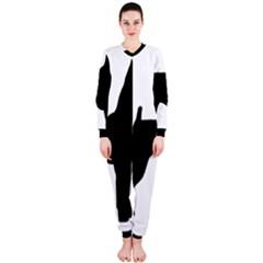 Min Pin Silo Black OnePiece Jumpsuit (Ladies)
