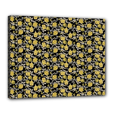 Roses pattern Canvas 20  x 16