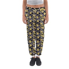 Roses pattern Women s Jogger Sweatpants