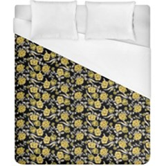 Roses pattern Duvet Cover (California King Size)