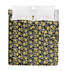 Roses pattern Duvet Cover Double Side (Full/ Double Size)