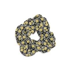 Roses pattern Velvet Scrunchie