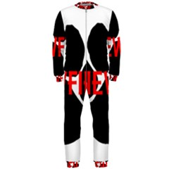 Newfie Name Paw OnePiece Jumpsuit (Men)