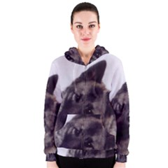 Norwegian Elkhound Women s Zipper Hoodie