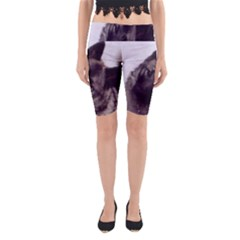 Norwegian Elkhound Yoga Cropped Leggings