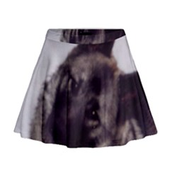Norwegian Elkhound Mini Flare Skirt