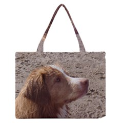 Nova Scotia Duck Tolling Retriever Medium Zipper Tote Bag