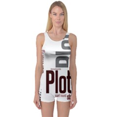 Plott Mashup One Piece Boyleg Swimsuit