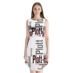 Plott Mashup Sleeveless Chiffon Dress