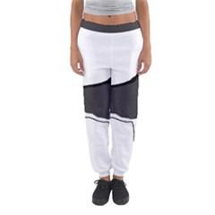 Siberian Husky Silo Color Women s Jogger Sweatpants