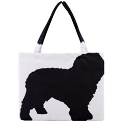 Spanish Water Dog Silhouette Mini Tote Bag