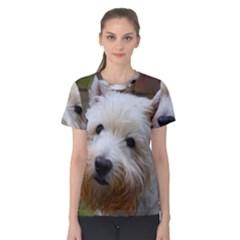 West Highland White Terrier Women s Cotton Tee