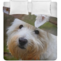 West Highland White Terrier Duvet Cover Double Side (King Size)