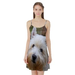 West Highland White Terrier Satin Night Slip