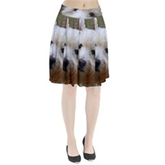 West Highland White Terrier Pleated Skirt