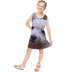 West Highland White Terrier Kids  Tunic Dress