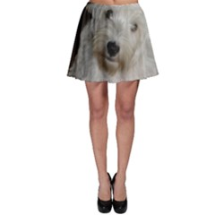 West highland white terrier puppy Skater Skirt