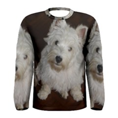 West highland white terrier puppy Men s Long Sleeve Tee