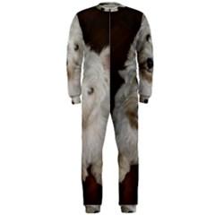 West highland white terrier puppy OnePiece Jumpsuit (Men)