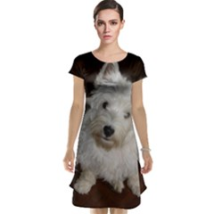 West highland white terrier puppy Cap Sleeve Nightdress