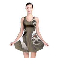 Sloth Hippie Reversible Skater Dress