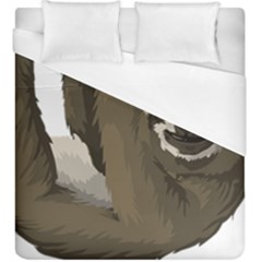 Sloth Hippie Duvet Cover (King Size)