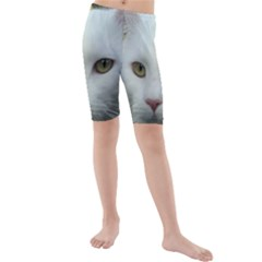 Maine Coon 4 Kids  Mid Length Swim Shorts