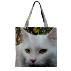 Maine Coon 4 Zipper Grocery Tote Bag