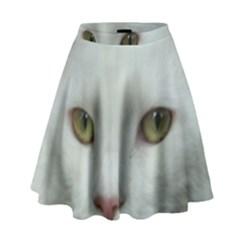 Maine Coon 4 High Waist Skirt