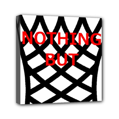 Nothing But Net Mini Canvas 6  x 6