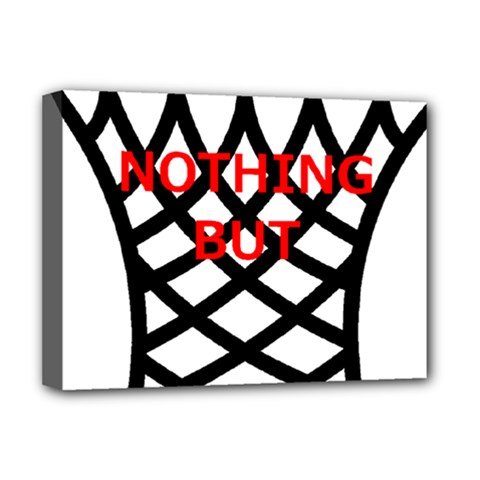 Nothing But Net Deluxe Canvas 16  x 12