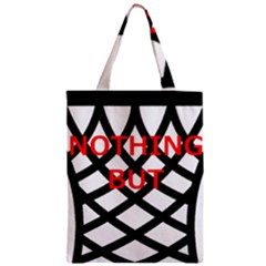 Nothing But Net Zipper Classic Tote Bag