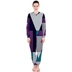 Geodesic Triangle Square OnePiece Jumpsuit (Ladies)