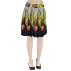 Get Fruity Pleated Skirt