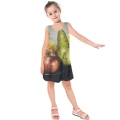 Get Fruity Kids  Sleeveless Dress