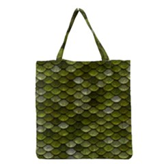 Green Scales Grocery Tote Bag