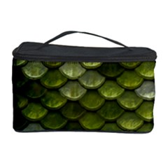 Green Scales Cosmetic Storage Case