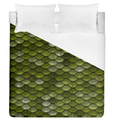 Green Scales Duvet Cover (Queen Size)