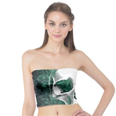 Green Skull Tube Top