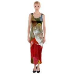 Gummi Bears Fitted Maxi Dress